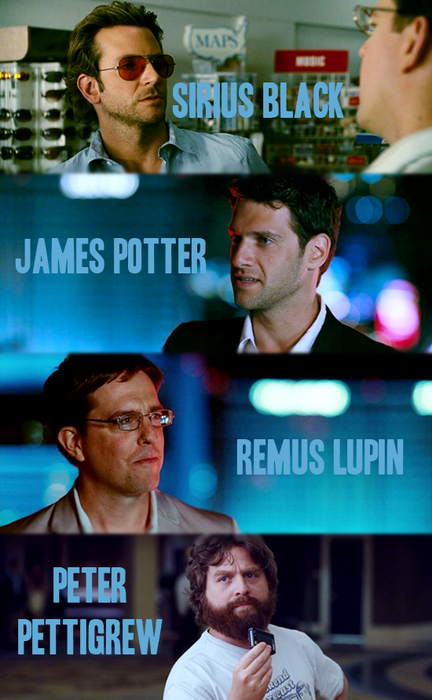 The Hangover: HP style