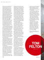 Tom Felton &quot;Gay Times&quot; Magazine - tom-felton photo