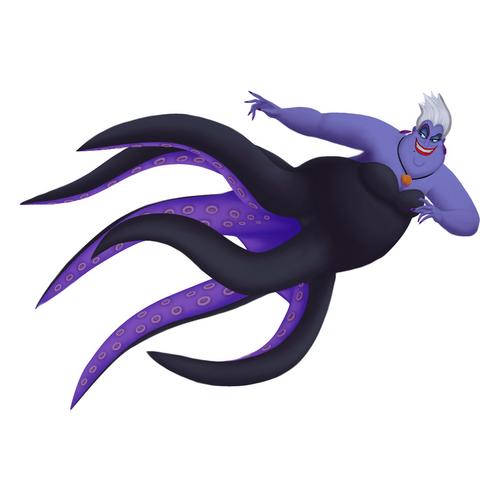 Ursula in Kingdom Hearts