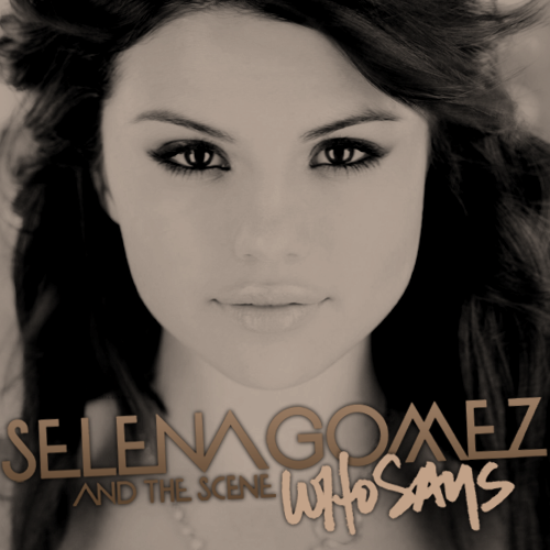 selena gomez youtube. tattoo selena gomez who says