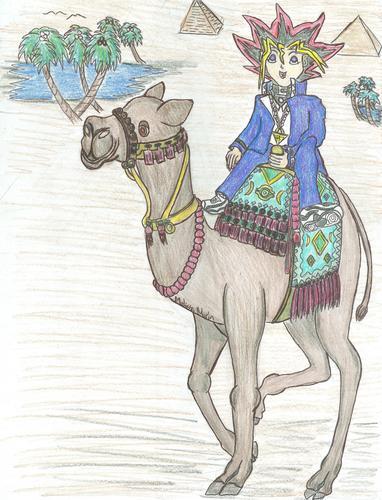 Yugi's unta Ride