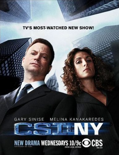 CSI - Scena del crimine new york posters