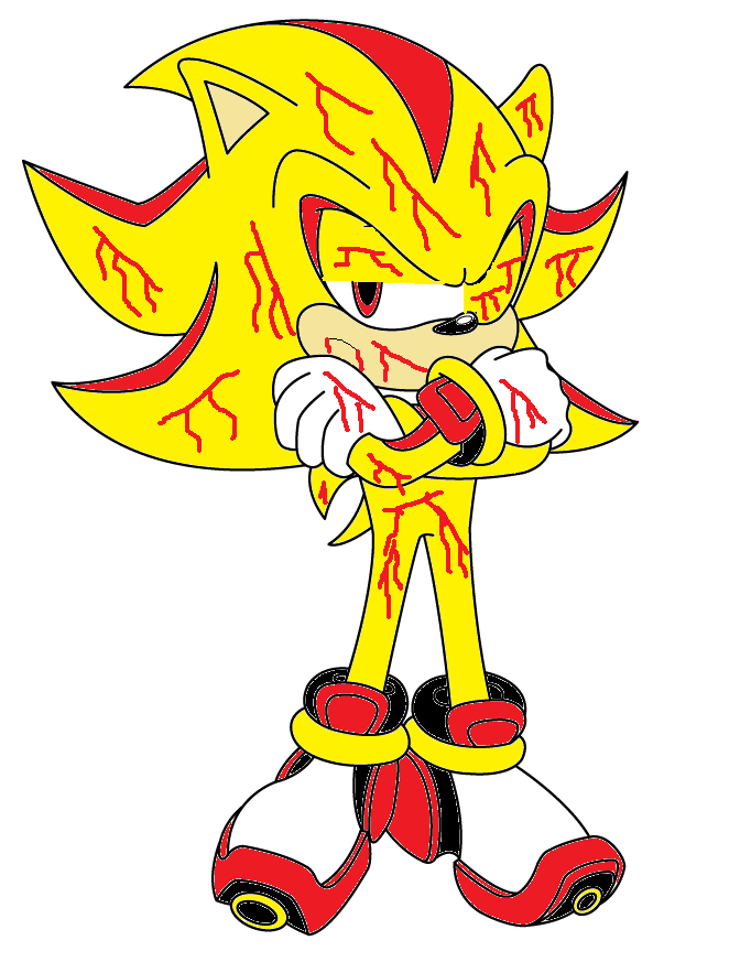hurt super shadow Sonic and the