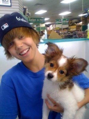 justin and his dog sammy!