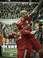 kuyt first hat-trick