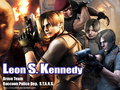 leon s. kennedy - resident-evil-4 wallpaper