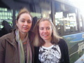 me with Nell Feeney - neighbours photo