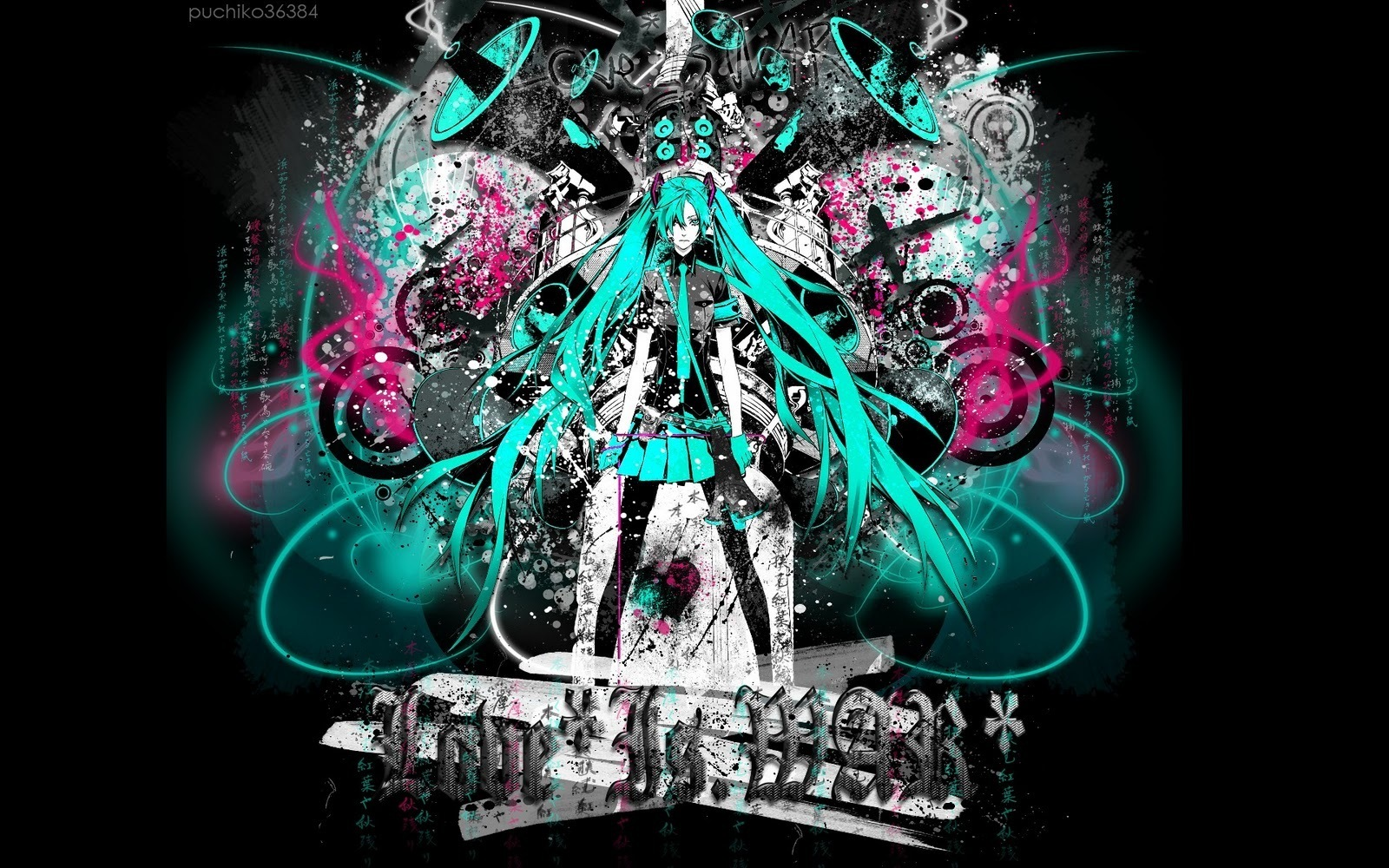 Hatsune Miku images miku love is war HD wallpaper and ...