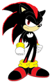 shadow the hedgehog(sonic version)