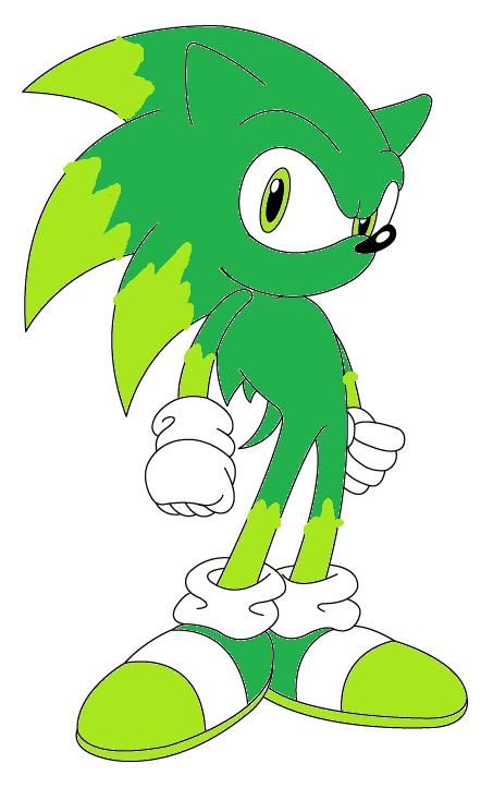 shadow the hedgehog(sonic version)