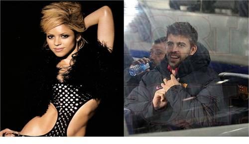 Shakira pique hot shot
