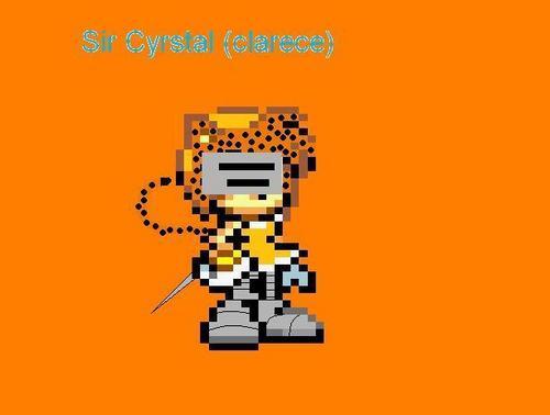 sir cyrstal (clarece)