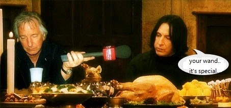 special snape wand..