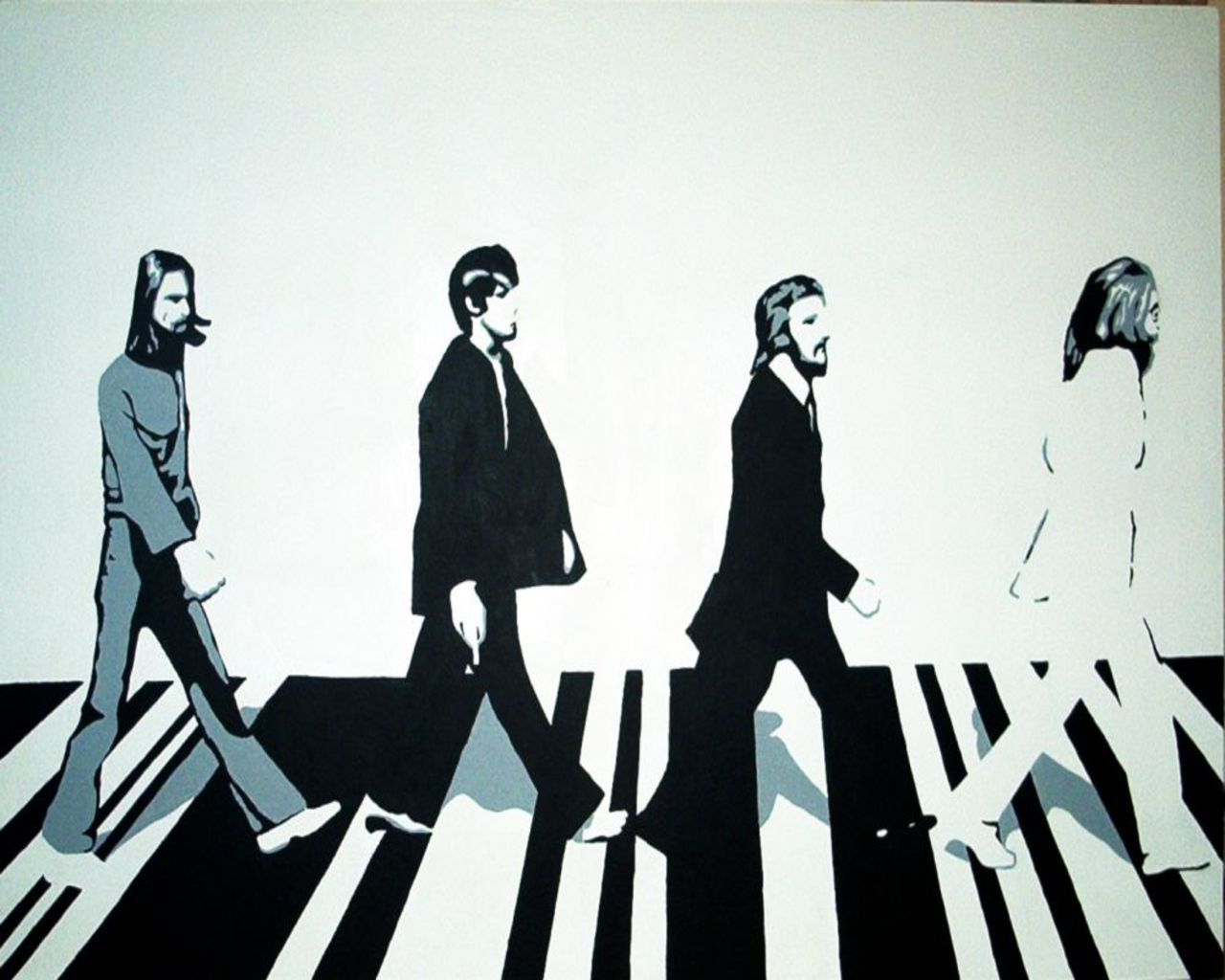 the Beatles wolpeyper