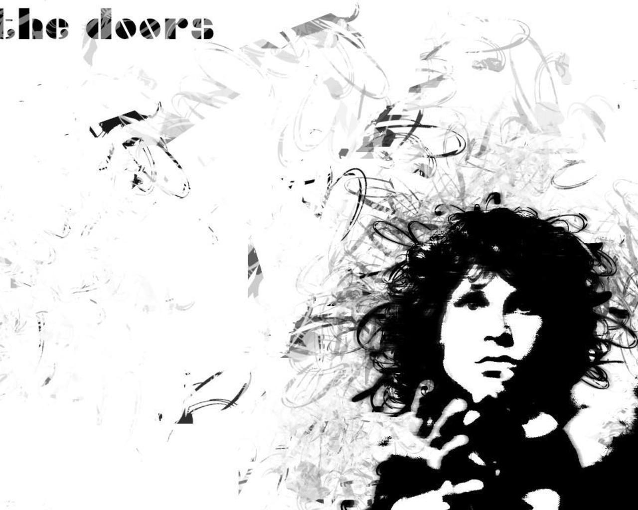 the Doors kertas dinding