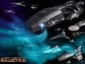 -Battlestar Galactica- - battlestar-galactica wallpaper