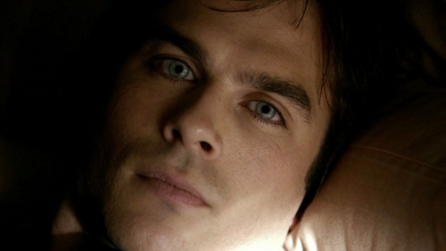 Damon Salvatore wallpaper possibly containing a portrait titled ;)