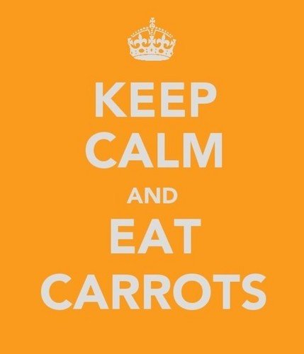 1D = Heartthrobs (Enternal प्यार 4 1D) Keep Calm & Eat Carrots! 100% Real :) x
