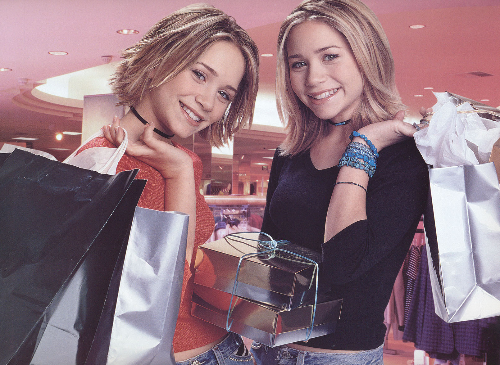 Mary-Kate & Ashley... Our Lips Are Sealed Movie