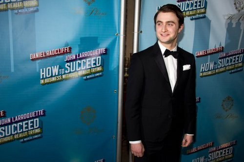 2011: How to Succeed opening night