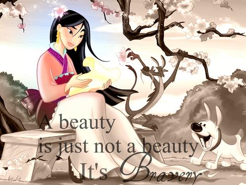 A beauty is not just a Beauty,It's Bravery