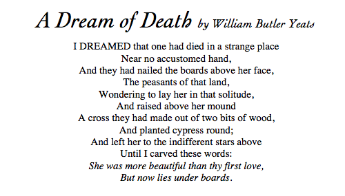 A dream of Death