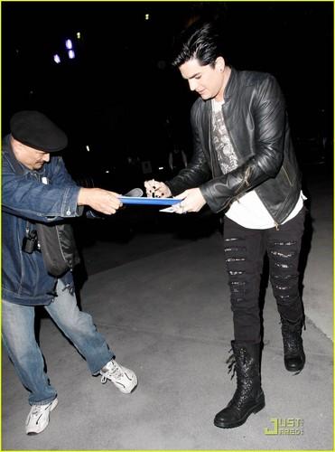 Adam Lambert: Lady Gaga konser with Sauli Koskinen!