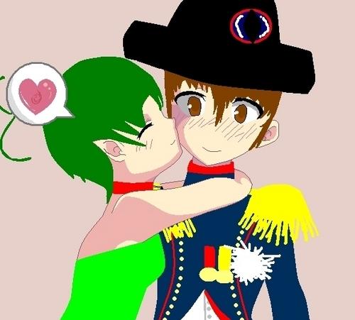 Alala x Napoléon hug