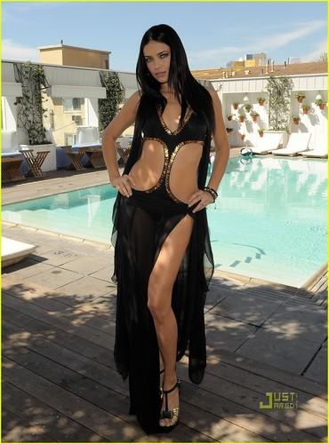 Alessandra Ambrosio Models Victoria's Secret Swim Collection