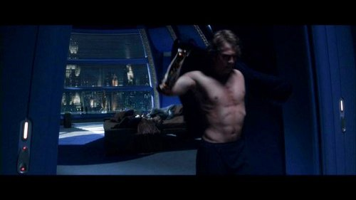 Anakin's SHIRTLESS