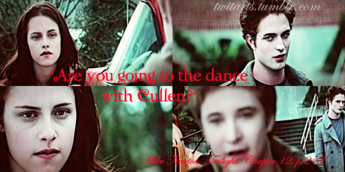 Are you going to the dance with Cullen?