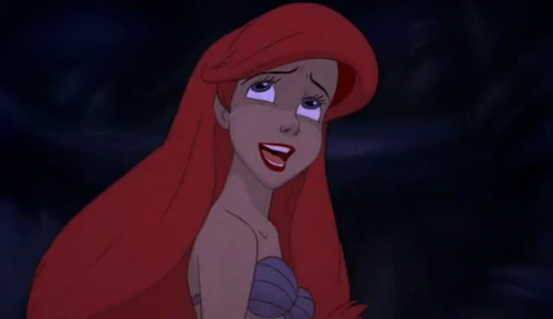 the little mermaid wallpaper entitled Ariel: Part of your world