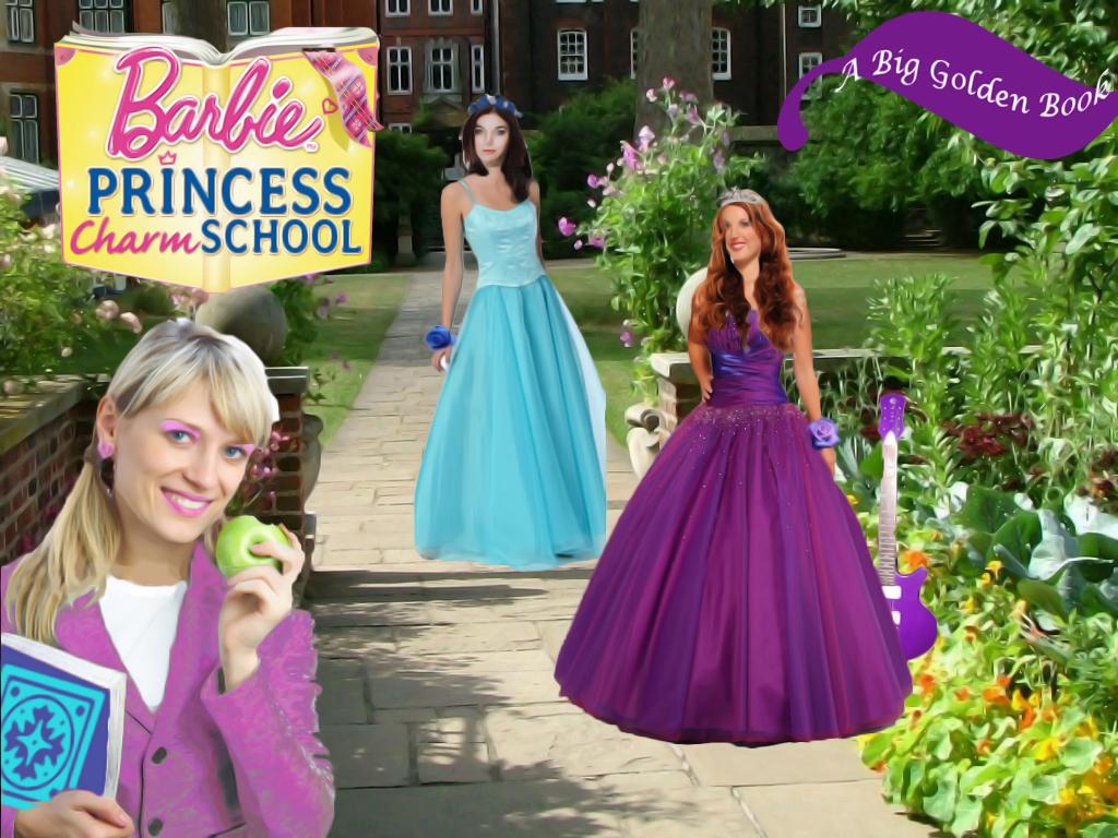 Barbie Princess Charm School- more realistic? Part 2