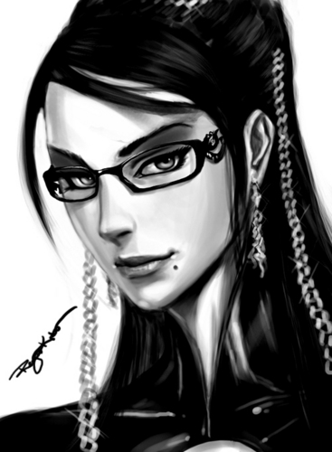 Bayonetta Portrait by Google123