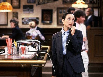 "Bebe as Lilith in ""Cheers"""