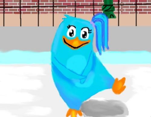 Bluepenguin! YAYZ :D