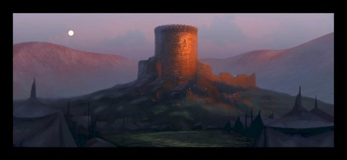 Merida - Legende der Highlands Concept art
