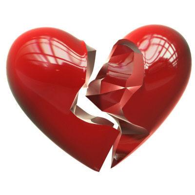 Broken coração