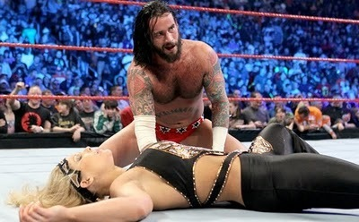 CM Punk and Beth Phoenix