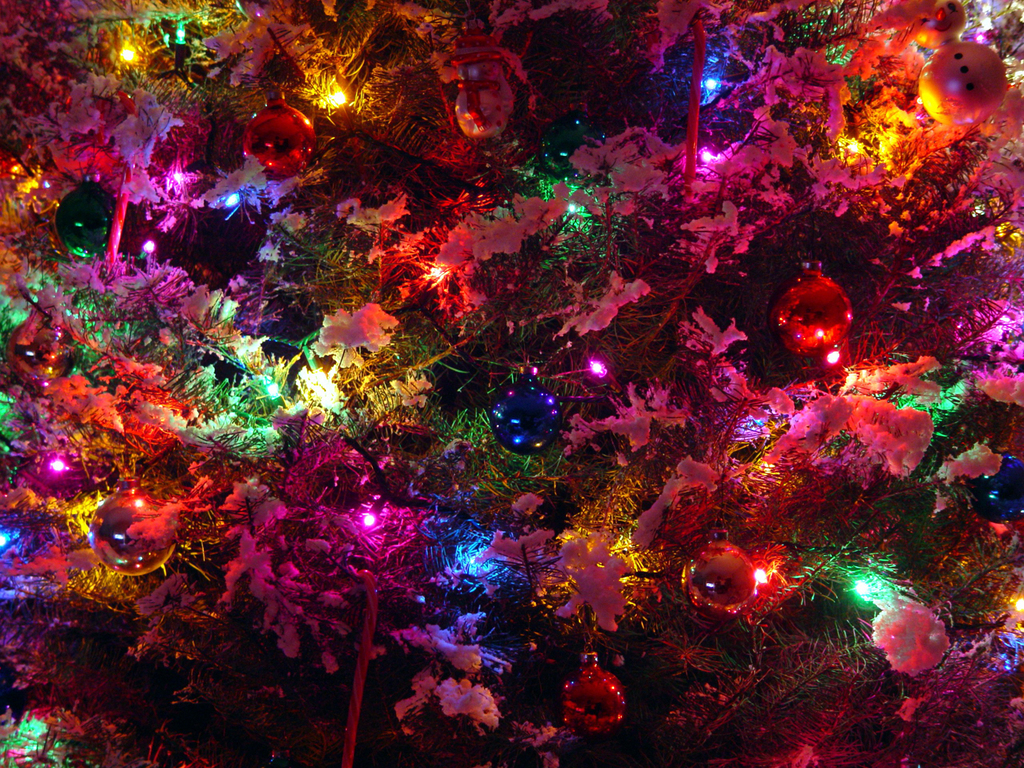 christmas wallpaper with bright - photo #13