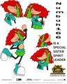 Codename Kids successivo Door Operation REVENGE Poster with Numbuh 166.