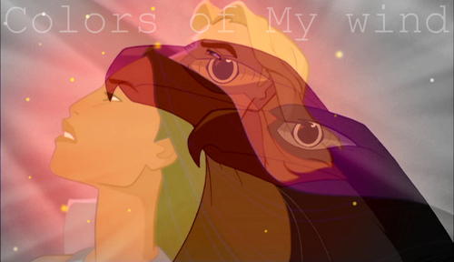 颜色 of my Wind-[i]Pocahontas and John Smith [/i]