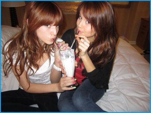 Debby Ryan and Bella Thorne