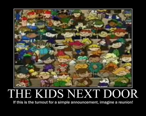 Codename: Kids Next Door wallpaper probably with anime called Demotivational KND Posters