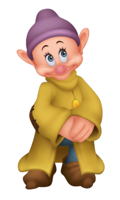 Dopey in Kingdom Hearts
