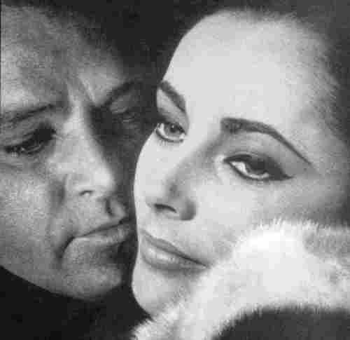 Elizabeth Taylor and Richard полиспаст, бертон