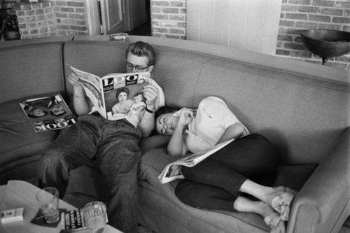 Elizabeth and James Dean