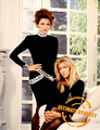 Emma Samms and Heather Locklear  - emma-samms photo