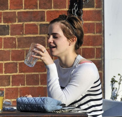 Emma Watson in Paris March 23rd