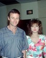 Emma and Tristan at the GH Fan Club Luncheon in the early 1980's. - robert-and-holly photo